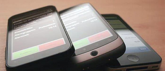 Alarm App von Frank Englert