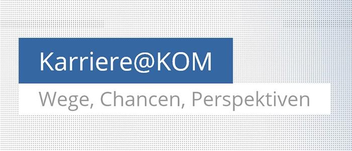 Karriere bei KOM, TU Darmstadt