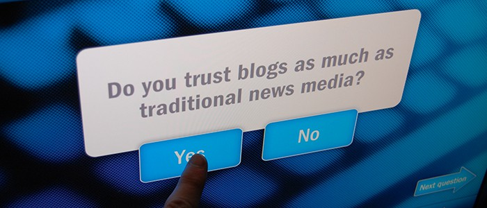 Trust in Blogs