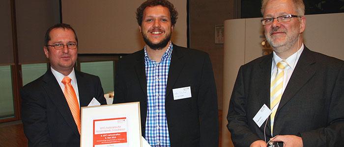 GFFT Förderpreis für Steffen Schnitzer