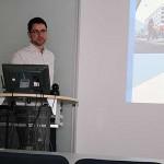 Daniel Burgstahler stellt EU-Projekte vor