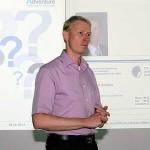 Dieter Schuller beantwortet Fragen zu EU-Projekten