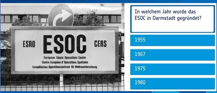Space Quiz ESA ESOC in Darmstadt