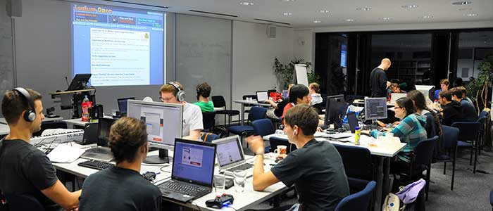 Game Jam Ludum Dare am Fachgebiet Multimedia Kommunikation TU Darmstadt