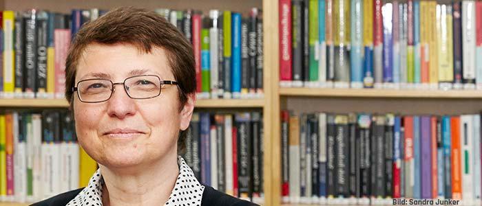 Klara Nahrstedt - Top-Wissenschaftlerin im Bereich Netzwerkforschung. Bild: Sandra Junker