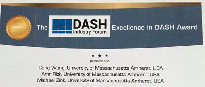Best Paper: Excellence in DASH Award - MMSys 2016